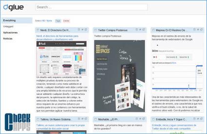 Glue, guarda y organiza marcadores en paneles durante tu navegación por Internet | Curaduria de contenidos y Preservacion digital | Scoop.it