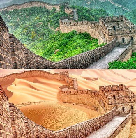 À quoi ressembleraient les monuments du monde en cas de sécheresse sévère | Chronique d'un pays où il ne se passe rien... ou presque ! | Scoop.it