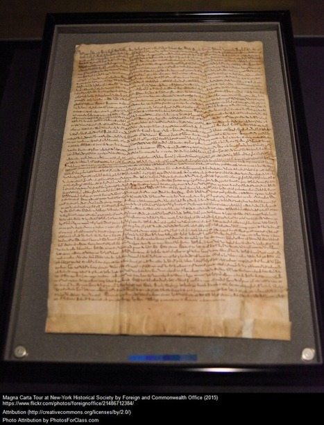 Documents That Changed The World | Current topics in adolescent literacy | Scoop.it