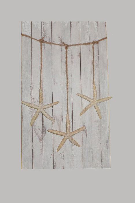 Starfish Wall hanging garland beach party mantel decoration by ilPiccoloGiardino | Fish: 21st Century Design Essentials | Scoop.it