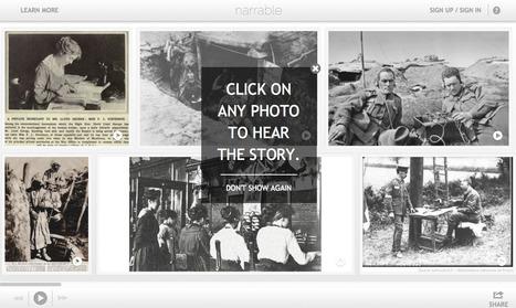 Un mur d'images sonores réalisé par des élèves de 5ème sur le thème des communications pendant la Grande Guerre | documentation Sonia | Scoop.it