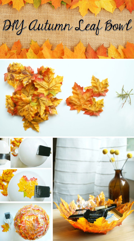 Bring Home The Magic Of Fall With this DIY Autumn Leaf BowlBring Home The Magic Of Fall With this DIY Autumn Leaf Bowl  | Let's change the world | Scoop.it
