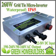 Solar Micro-Inverter Grid Tie,IP65,LED display pure sine wave inverter 22-50V | where can i get good price solar charge controller | Scoop.it