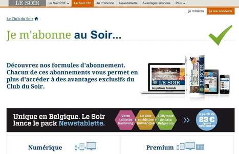 "La ""Google Newsroom"" du journal ""Le Soir"" 