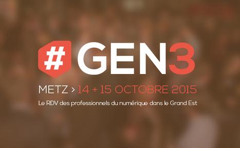 #GEN3 : Grand Est Numérique - Frenchweb.fr | Actualité du centre de documentation de l'AGURAM | Scoop.it