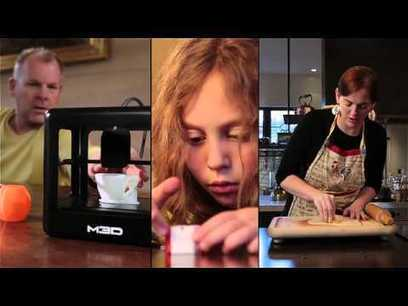 The Micro The First Truly Consumer 3D Printer - YouTube | DIY - 3D printing- Maker | Scoop.it