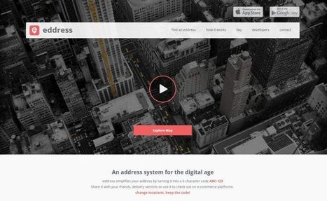 Eddress, para facilitar compartir localizaciones concretas | Aprendiendoaenseñar | Scoop.it