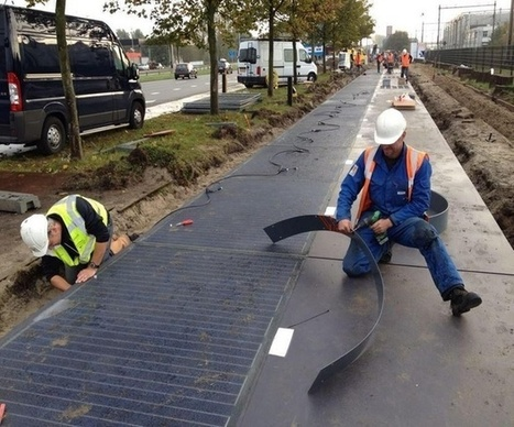 The Netherlands Gets the World's First Solar-Powered Bike Lane | Regional Geography | Scoop.it