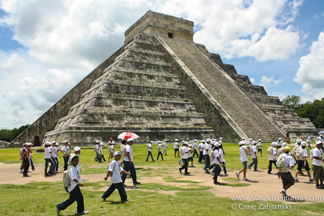 Thursday: Walk through the Mayan Ruins at Chichen Itza before the world ends December 21 | mayan archaeology | Scoop.it