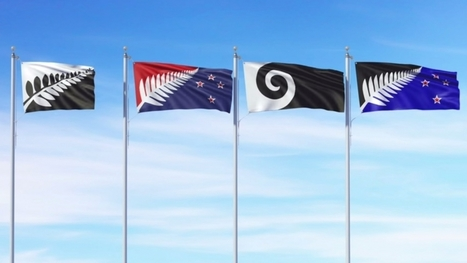 New Zealand panel unveils four alternate flag options, to a largely negative reaction. | Geography Education | Scoop.it