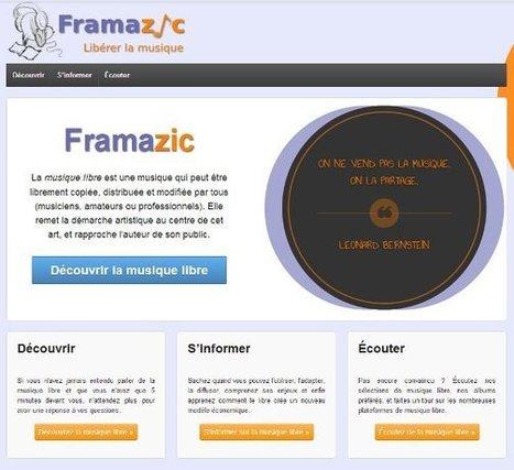 Framazic, l'entrée musique libre du réseau Framasoft par Martin Gubri | Libre de faire, Faire Libre | Scoop.it