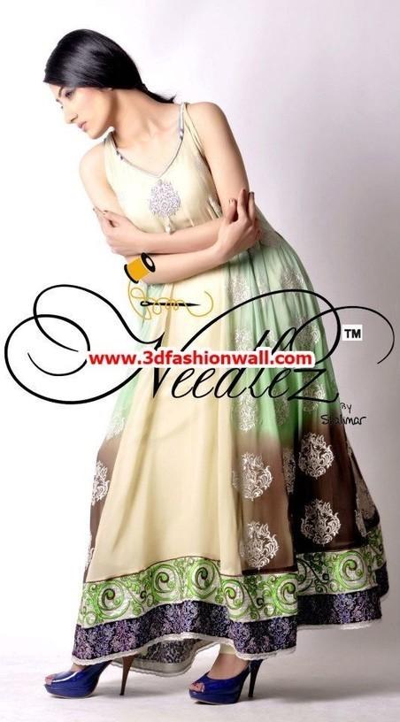 Needlez By Shalimar Party Dresses 2013 For Women | Pakistani dresses | Scoop.it