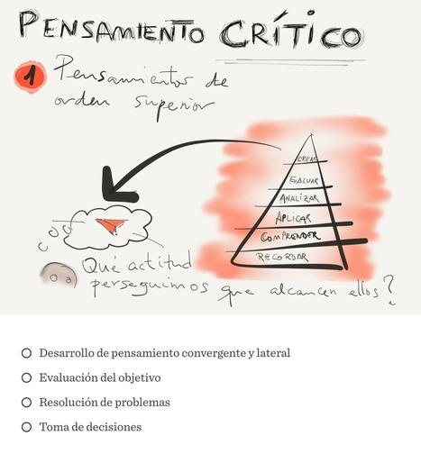 Pensamiento crítico | ETics | Scoop.it