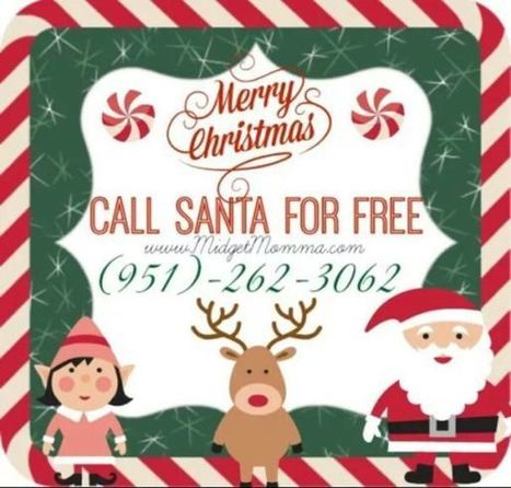 You better hurry! Call Santa and tell what you want for Christmas | from around the web | Scoop.it