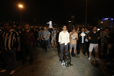 'Standing Man' Protest Spreads Across Turkey | Citizenship Education | Scoop.it