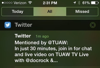 iOS 7 video tip: Organizing Notification Center | Menu for iOS | Scoop.it