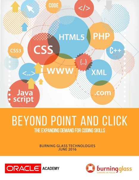 [PDF] Beyond point and click: The expanding demand for coding skills | Edumorfosis.it | Scoop.it