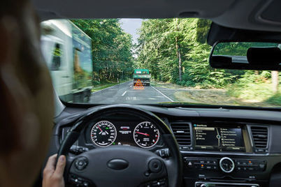 Head-up-Display mit Augmented Reality - autobild.de | Augmented reality tools and news | Scoop.it
