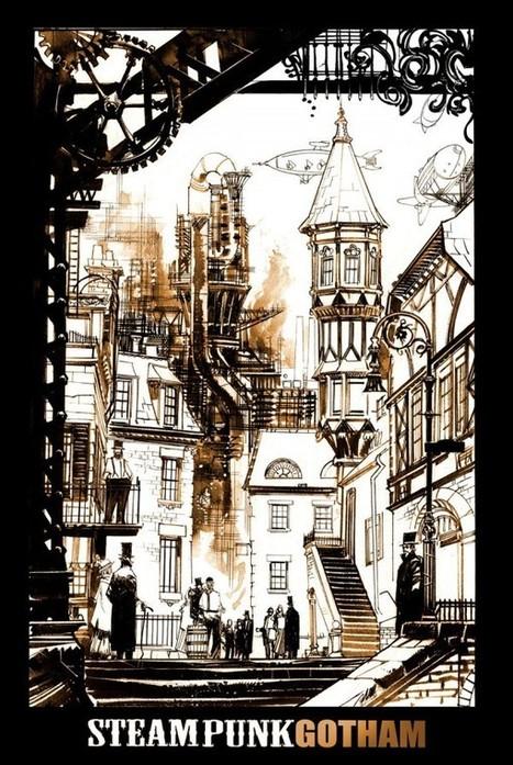 The Steampunk Gotham Comic From Sean Gordon Murphy That Wasn't - Bleeding Cool News | Steampunkerie | Scoop.it