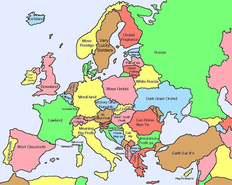 40 Maps That Will Help You MAKE SENSE of the World | URBANmedias | Scoop.it