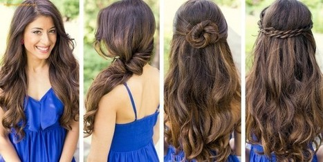 Quick Simple Hairstyles For Teenagers |Best Hair Style Video | indianjouranalhealth.com | Scoop.it