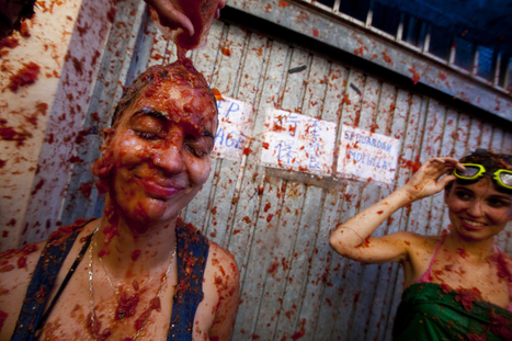 La Tomatina 2012 | Geography 200 | Scoop.it