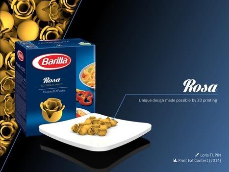 Barilla 3D Printed Pasta Takes Shape - 3D Printing Industry | Cafsphere | Scoop.it