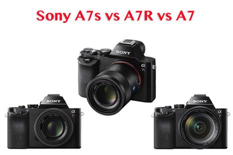 Sony A7s vs A7R vs A7 - which Sony full-frame camera should you buy? | Digital Camera World | Sony A7 & A7r News & Reviews | Scoop.it