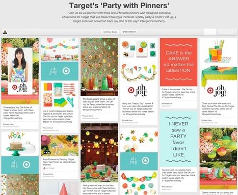 Case Study: Target - Creating a Bullseye Pinterest Strategy | Pinterest | Scoop.it