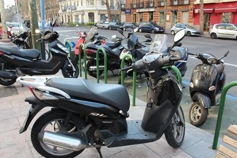 Moto en ciudad: ¿Cómo aparcarla correctamente? - Xenasegur | Mediación de Seguros en España | Scoop.it