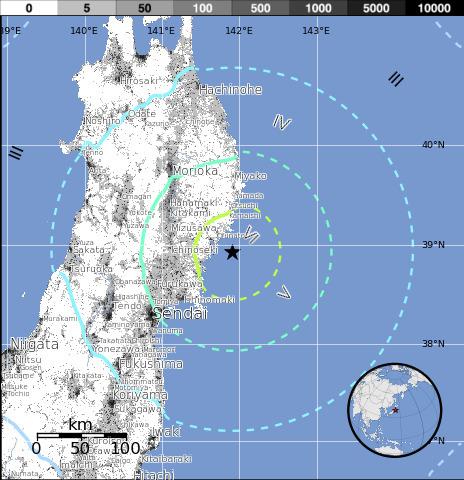 EarthQuake - M 6.4 - NEAR THE EAST COAST OF HONSHU, JAPAN | Japan Tsunami | Scoop.it