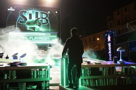 A Milan, Heineken lance son Sub en transformant un salon en flipper géant | streetmarketing | Scoop.it