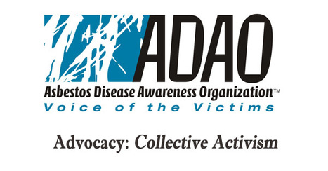 Asbestos Disease Awareness Organization: Advocacy - How can you help to create a world free from asbestos? | Asbestos and Mesothelioma World News | Scoop.it