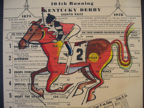 104th Kentucky Derby Painted Race Form | Horse Racing News | Scoop.it