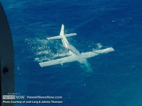 NTSB: Hawaii plane floated 25 mins, then sank - Hawaii News Now | Occupational health and safety. | Scoop.it