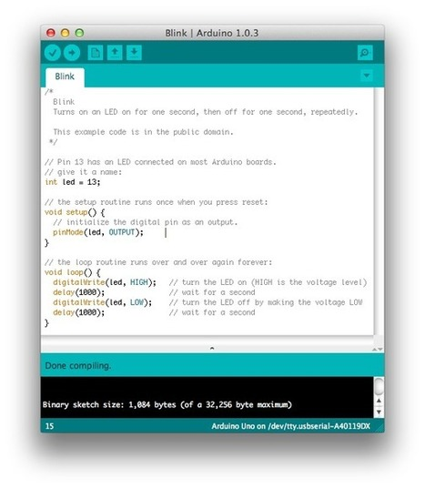 DIJN.02 – The Arduino IDE JeeLabs | Arduino, Netduino, Rasperry Pi! | Scoop.it