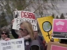"Montana ""War Against Women"" Rally 