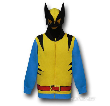 Wolverine Classic Hoodie: Adamantium Claws Sold Seperately | All Geeks | Scoop.it