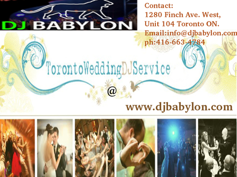 Toronto's Disc Jockey (DJ) Services for Weddings, Corporate, Anniversaries, Theme Parties and more!!! | DJ Services and Party Arrangements | Scoop.it