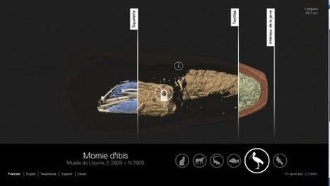 Pour son expo «des animaux et des pharaons», le Louvre-Lens propose un dispositif multimédia d'exploration de momies animales | Quatrième lieu | Scoop.it