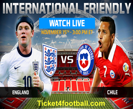 Chile Tickets - Friendlies Football Tickets - England Tickets | World Cup 2014 | Scoop.it