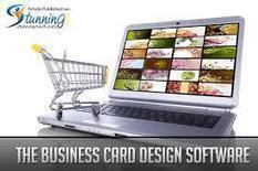 Effective Ways To Get More Out Of Business Cards Design Software | CBSAlliance | Scoop.it