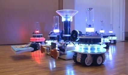 Swarm Robots team up to conquer… a bookshelf « Ponoko – Blog | Robots and Robotics | Scoop.it