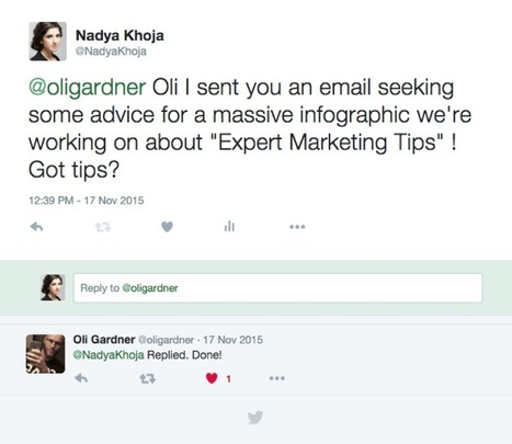 How To Reach Out To Influencers So That They Can't Say No - CrazyEgg | digital marketing strategy | Scoop.it
