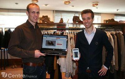 Deux Orléanais ont créé un site d'achat/vente de vêtements d'occasion géolocalisables | Com' et territoire | Scoop.it