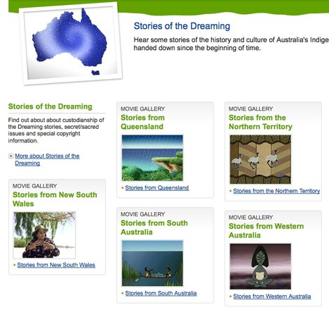 Stories of the Dreaming - Australian Museum | Telling tales | Scoop.it