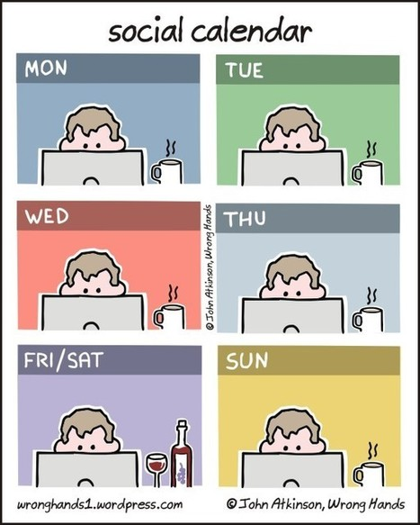The Social Calendar [COMIC] | Social Media - Simple Strategies to Make it Work for Your Business | Scoop.it