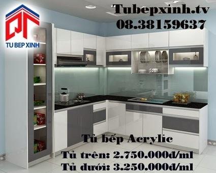 Tủ bếp, kệ bếp, phụ kiện tủ bếp với giá tốt nhất tại TP HCM 08.38159637 - 08.38159639: Tu bep, mẫu tủ bếp Acrylic nhà chị Châu tại Tân Bình | Tủ bếp, tủ bếp hiện đại với thiết kế đẹp, mang niềm vui đến gia đình bạn | Scoop.it