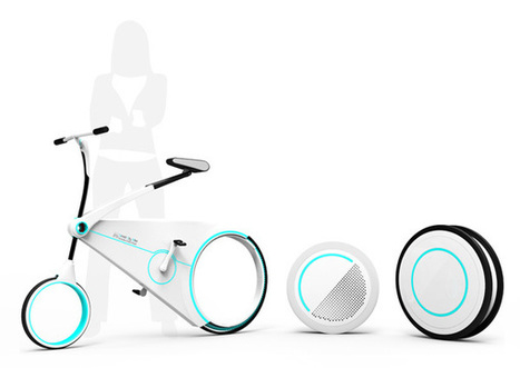 Smart City Bike by Yo-Hwan Kim | Design Mind | Scoop.it