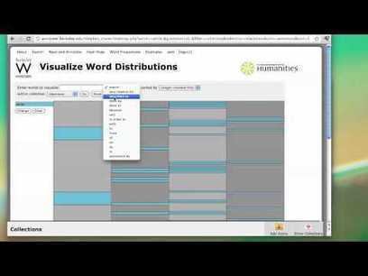 WordSeer A Text Analysis Environment for Humanities Scholar | Visual information | Scoop.it